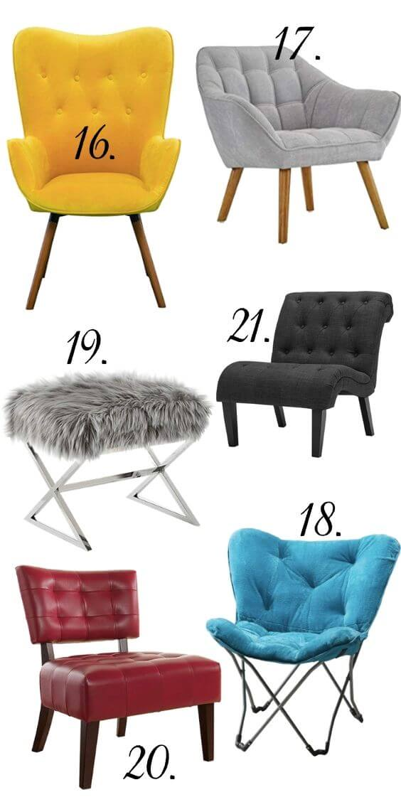 Stylish Dorm Room Chairs-3