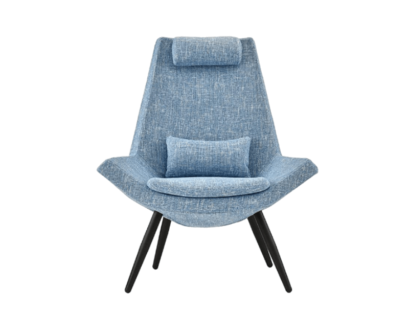 Super Cool College Dorm Room Chairs | Modern Contemporary Linen Fabric Accent Chair