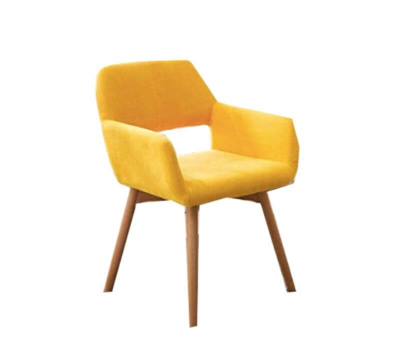 Super Cool College Dorm Room Chairs | Yellow Modern Accent Arm Chair