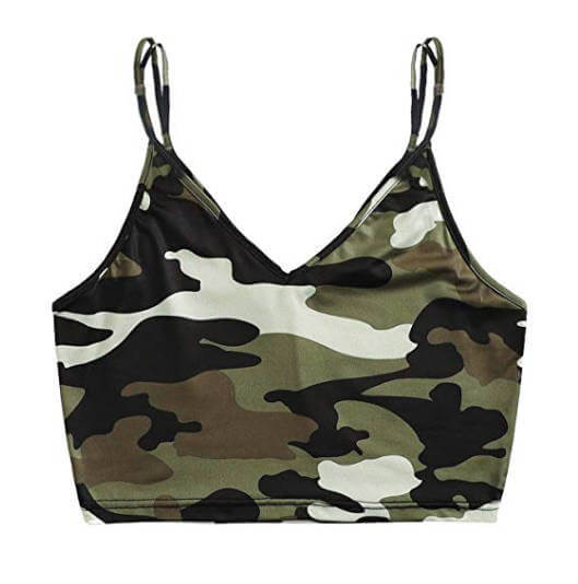 Army Toy Soldiers Hot College Halloween Costume Army Bralette