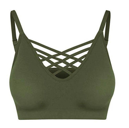 Army Toy Soldiers Hot College Halloween Costume Green Army Bralette