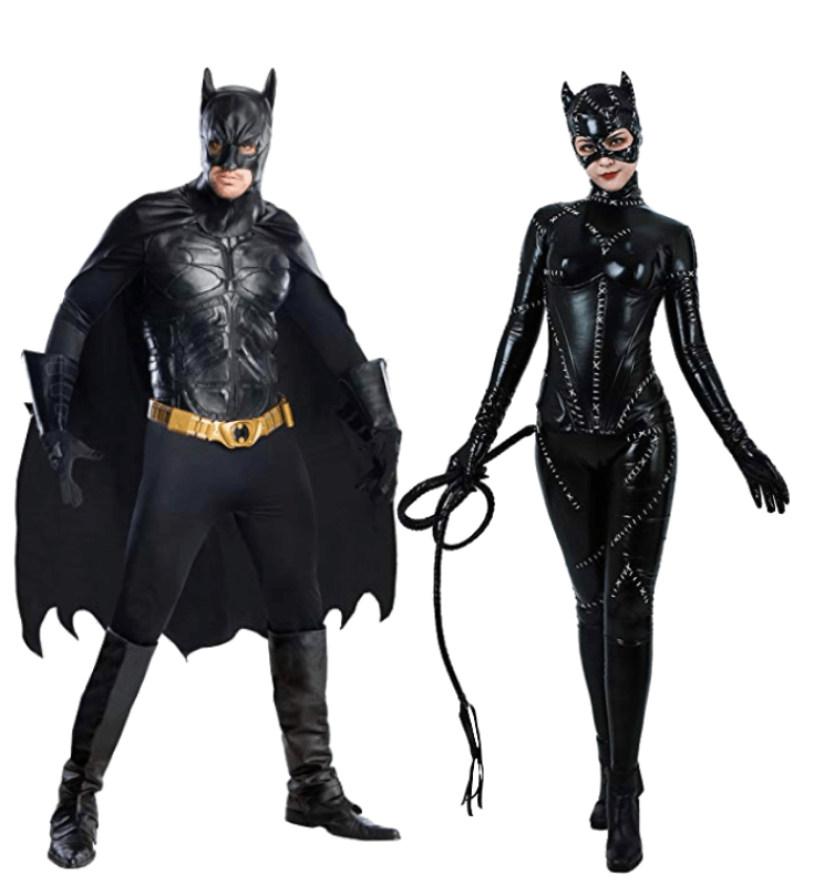 Batman and Catwoman Couple Halloween Costume