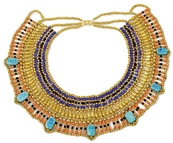 Cleopatra Halloween Costume Collar Necklace