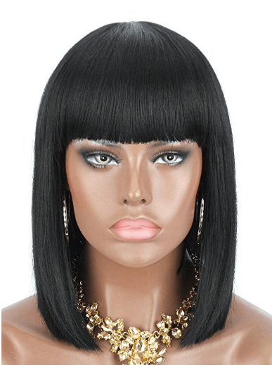 Cleopatra Halloween Costume Wig 3 of 3