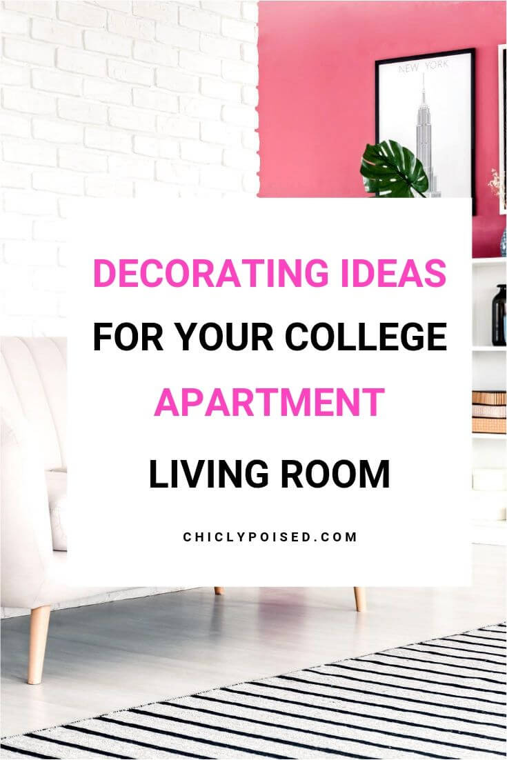 College Apartment Decorating Ideas For Your College Apartment Living Room 2 of 5