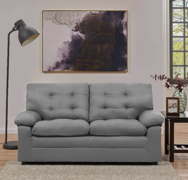 College Apartment Decorating Ideas For Your College Apartment Living Room | Grey Small Couch