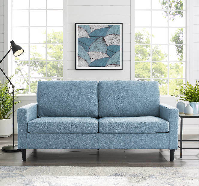 College Apartment Decorating Ideas For Your College Apartment Living Room | Small Couch