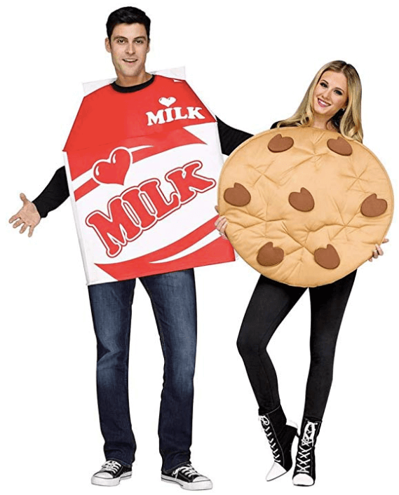 Cookies and Milk Adult Halloween Costume