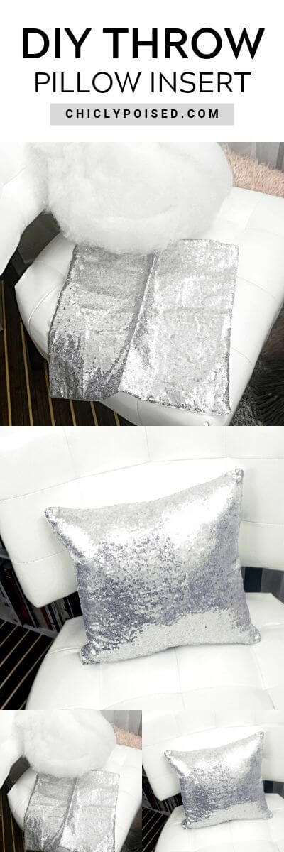 DIY Throw Pillow Insert No-Sew 4 of 10