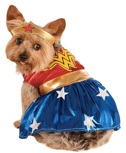Halloween Costumes  For Dogs Wonder Woman