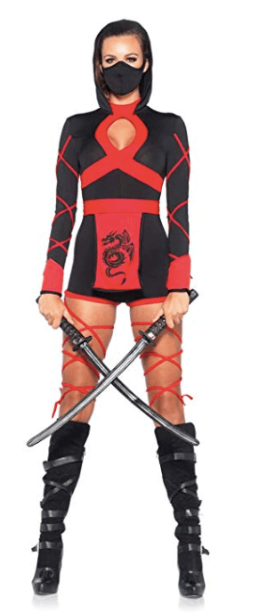 Hot Ninja College Halloween Costumes