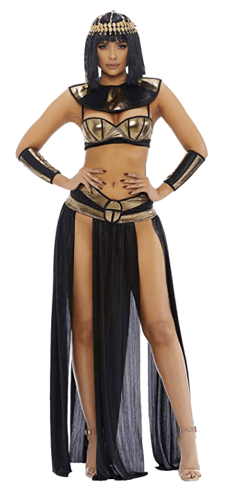 King Tut and Cleopatra Costume Couple Halloween Costume Cleopatra Costume