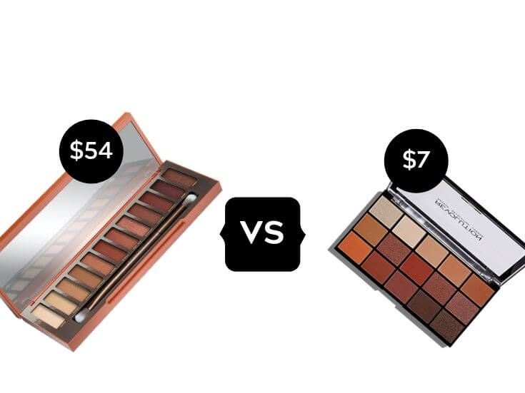 Makeup Dupes High End Eyeshadow Palette