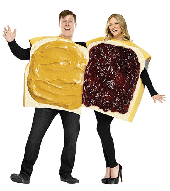 Peanut Butter and Jelly Couple Halloween Costume