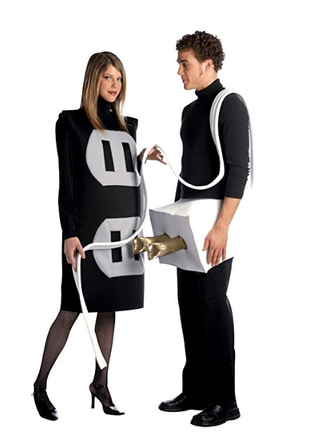 Plug and Socket Couple Halloween Costume