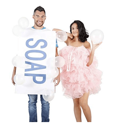 Soap and Bubbles Adult Halloween Costume