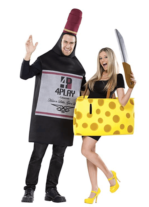 Wine And Cheese Couple Halloween Costume