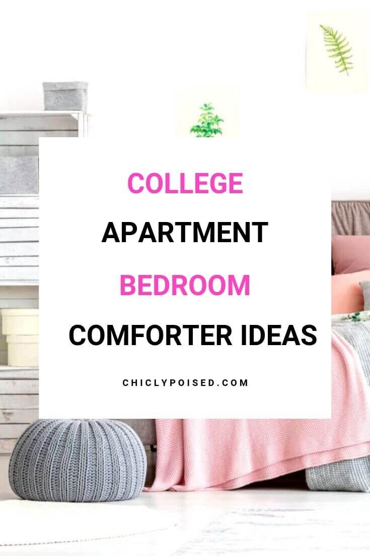 College Apartment Bedroom Comforter Ideas 2 of 3