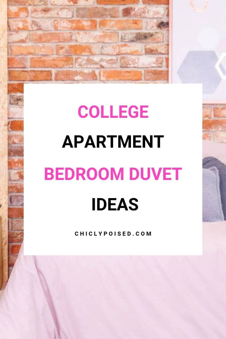 College Apartment Bedroom Duvet Ideas 2 of 2