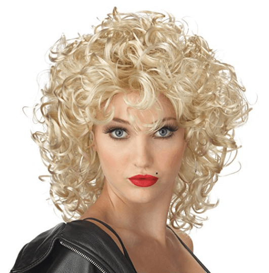Grease Halloween Costume Party Sandy Costume | Blonde Wig