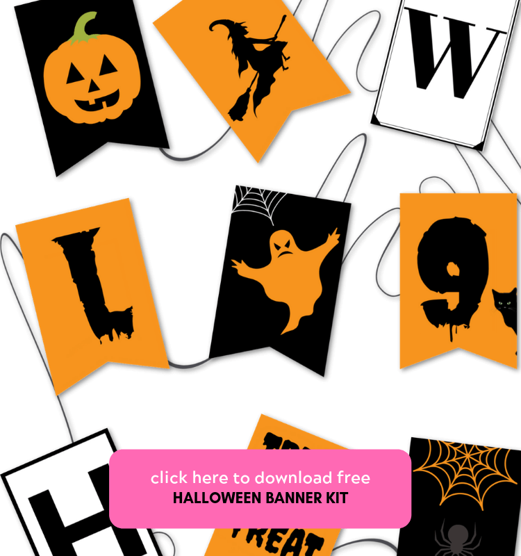 Halloween Banner Kit 1 of 2
