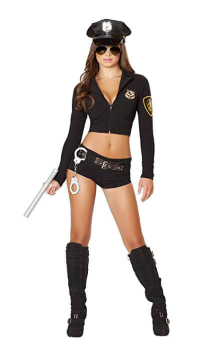 Prisoner and Sexy Cop | Sexy Cop Halloween Costume