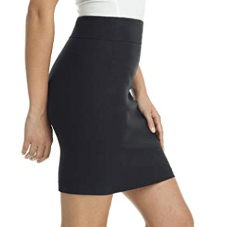 The New Adventures of Superman | Lois Costume | Black Short Pencil Skirt