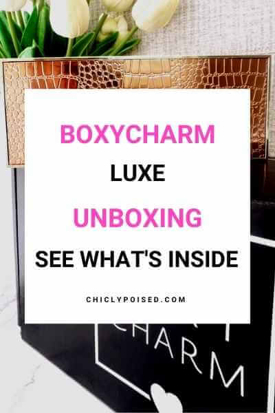 BoxyLuxe September 2019 Unboxing 1 of 2
