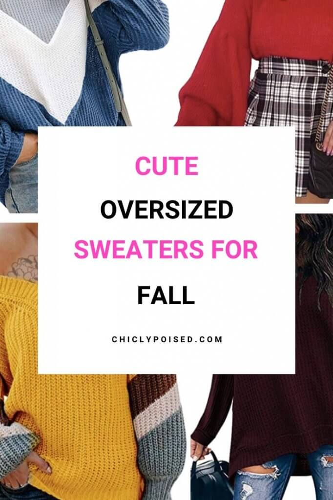 Cute Fall Oversized Sweaters 3 of 6
