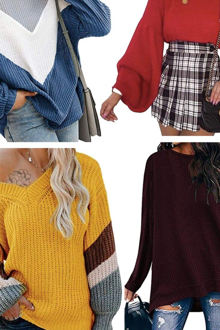 Cute Fall Oversized Sweaters 4 of 6