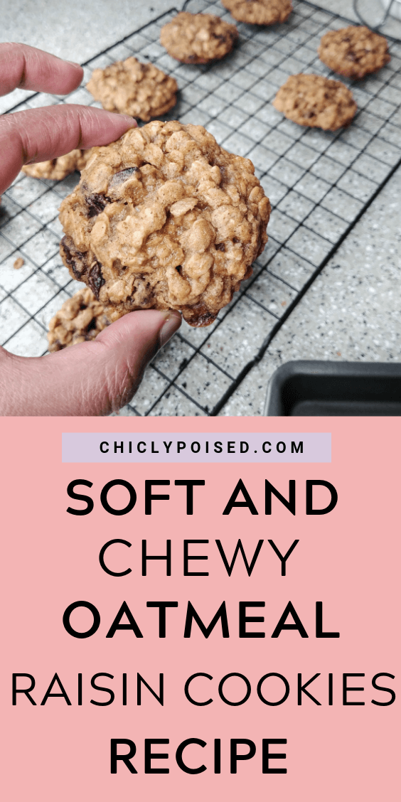 Delicious Soft and Chewy Oatmeal Raisin Cookies Recipe 1 of 2
