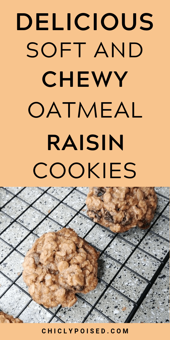 Delicious Soft and Chewy Oatmeal Raisin Cookies Recipe 2 of 2