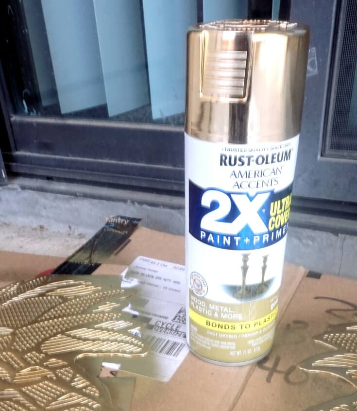 Metallic Gold Paint Spray