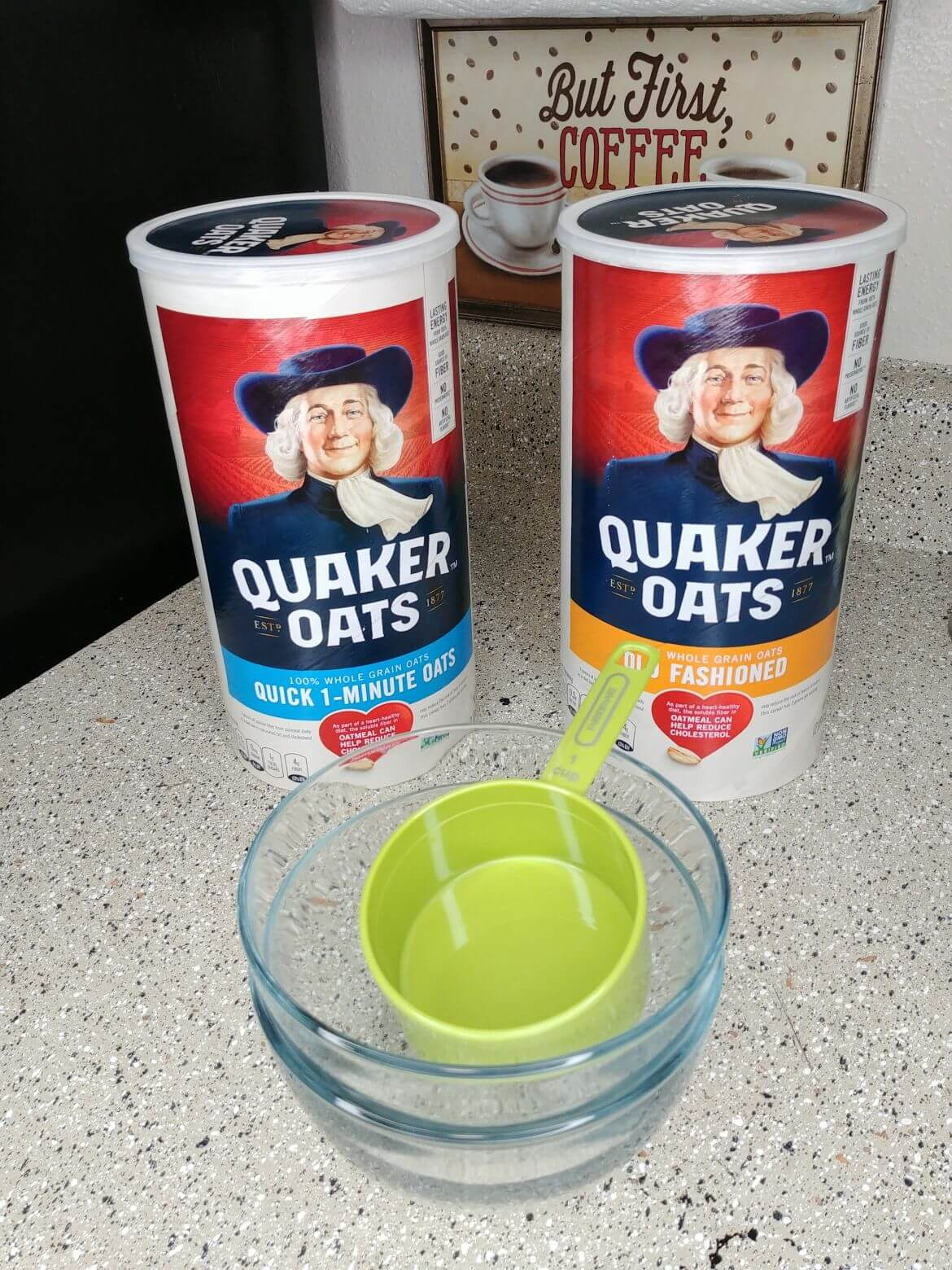 Quick oats instead of old fashioned oats 2 of 9