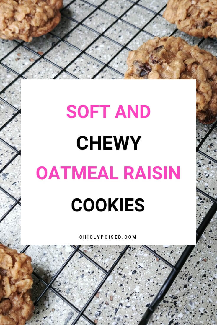 Soft And Chewy Oatmeal Raisin Cookies Recipe 2 of 2