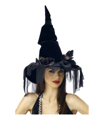 Spooky Adult Witch Halloween Costumes No DIY | Witch Hat Adult Halloween 2 of 4