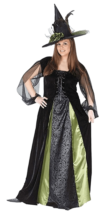 Adult Witch Black Halloween Costumes 1
