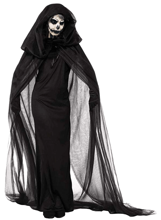 Adult Witch Black Halloween Costumes 9