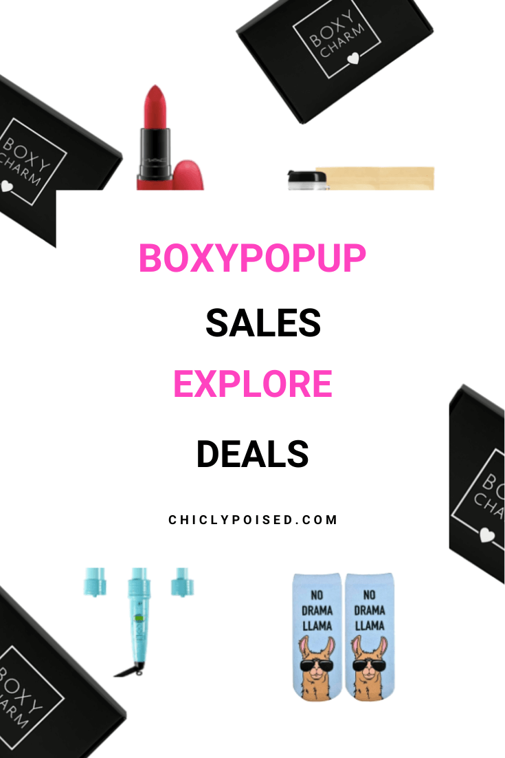 BoxyPopUp Sales Explore Deals