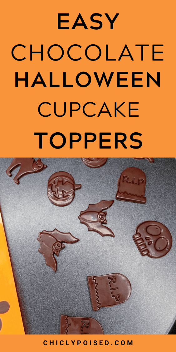 Easy Halloween Chocolate Toppers 2 of 4