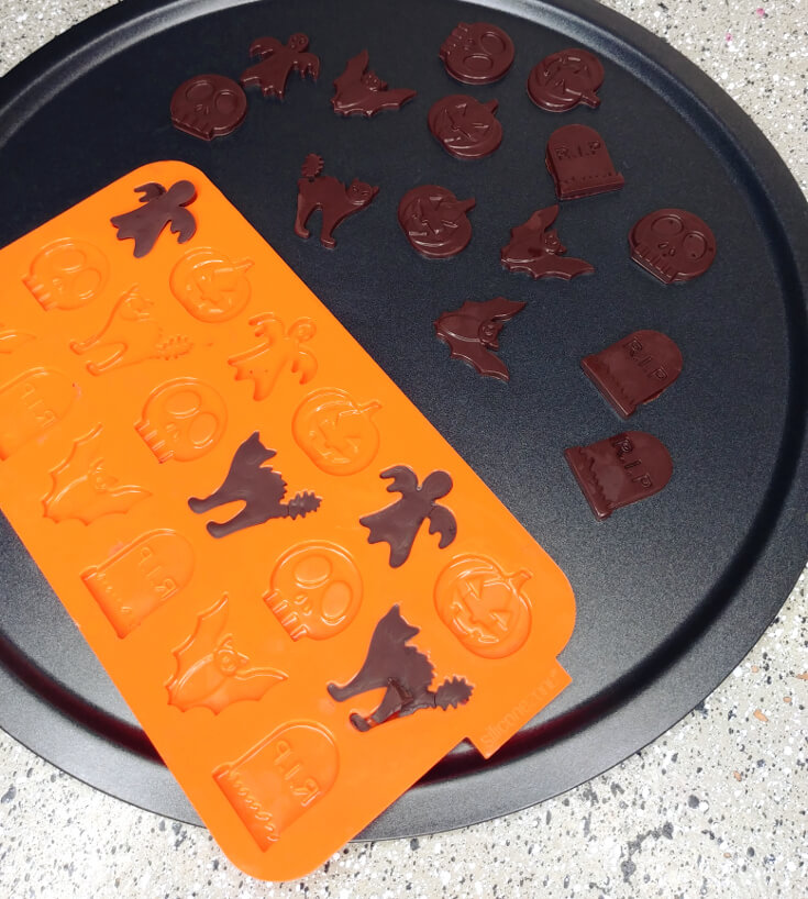 Halloween Chocolate Cupcake Toppers 4 of 8