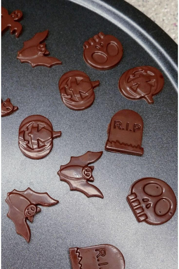 Halloween Chocolate Cupcake Toppers 5 of 8