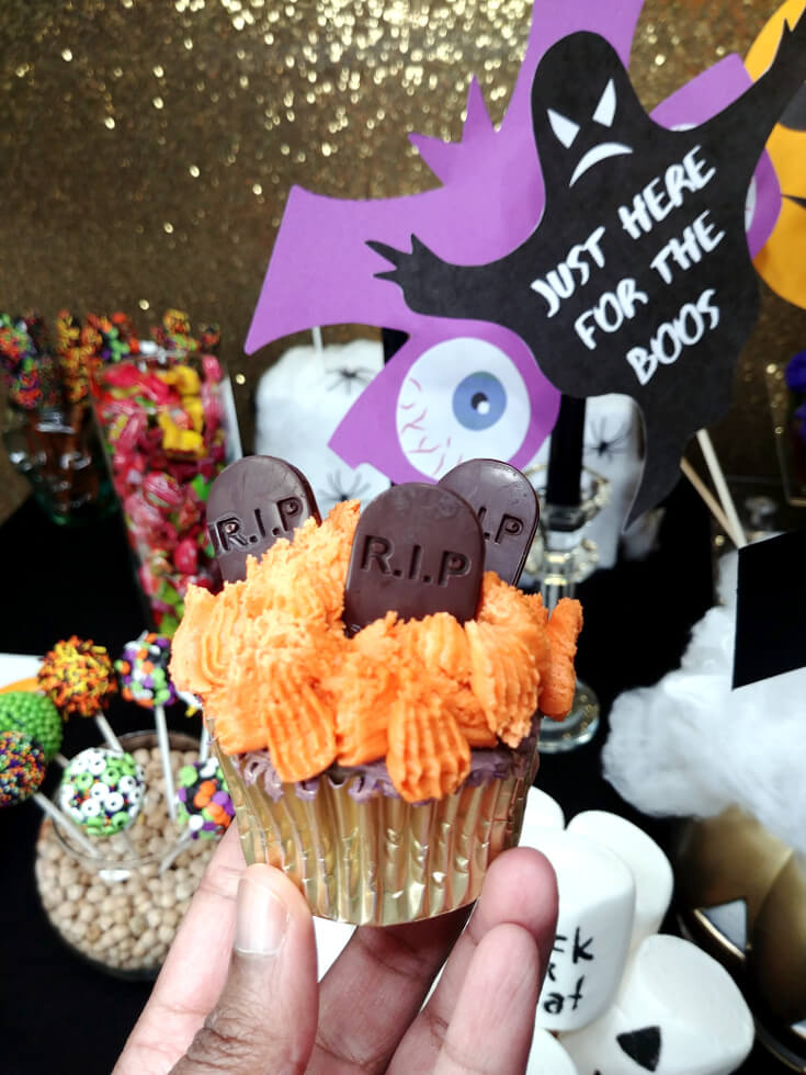 Halloween Chocolate Cupcake Toppers 7 of 8