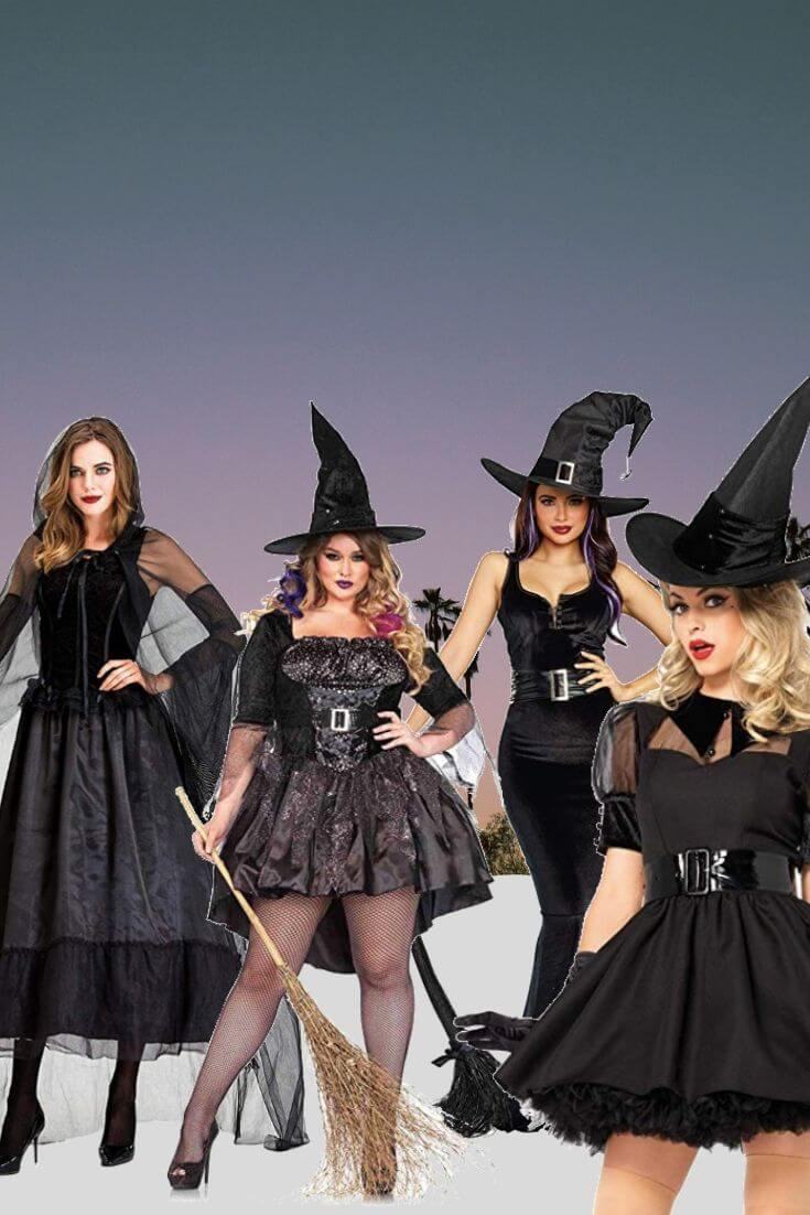 Impressive Witch Halloween Costumes 4 of 5