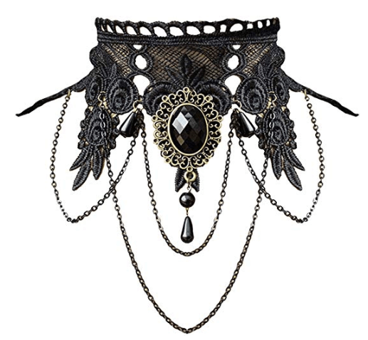 Necklace for Witch Halloween Costume
