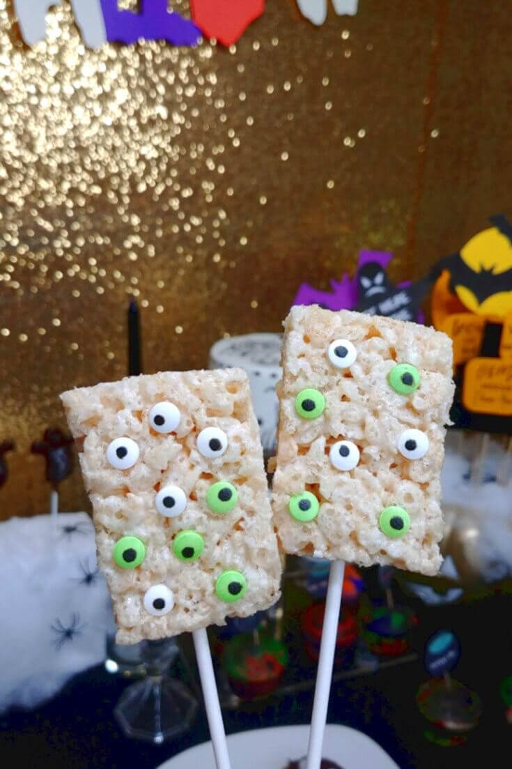 Quick Rice Krispies Monsters Treats Recipe 1 of 2