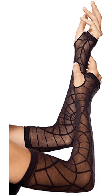 Sheer Arm Warmer for Halloween Costume