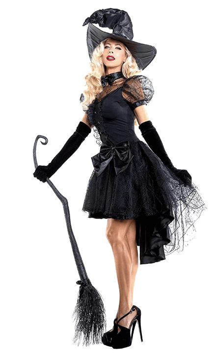 Witch Halloween Costumes Black