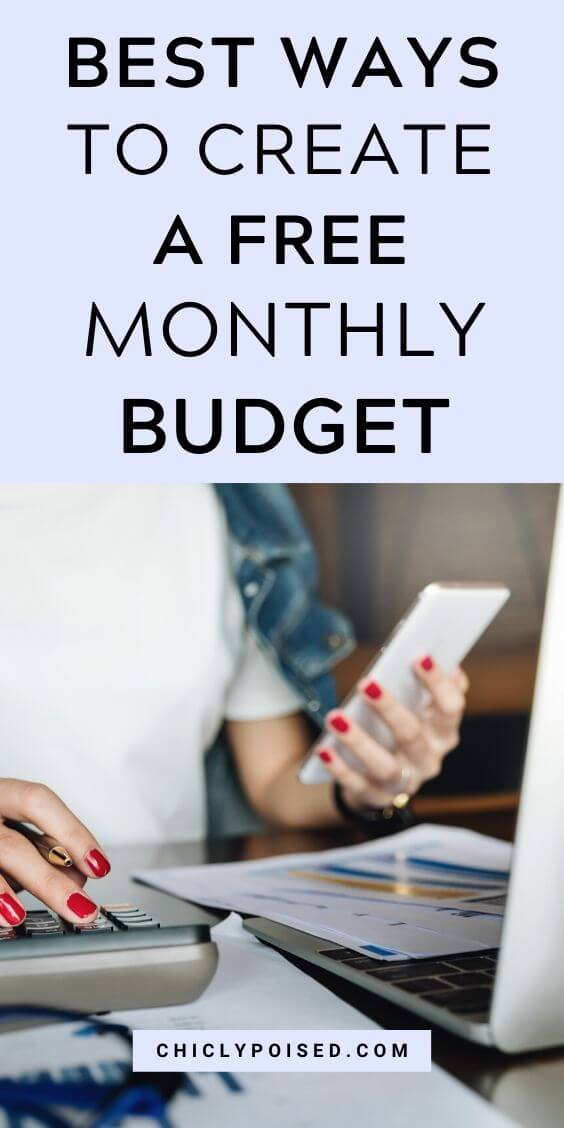 Best Ways To Create A Free Monthly Budget 5 of 5