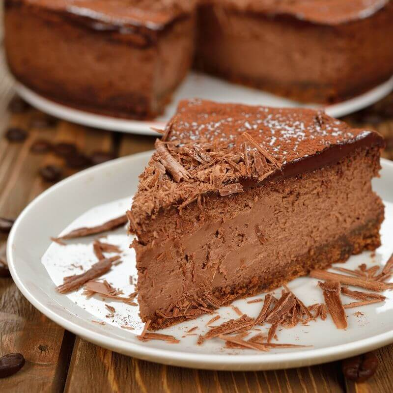 Chocolate Desserts Recipes | Chocolate cheesecake